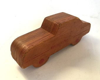 Sale - Mid Century Whittier Crafted Car Block Toy