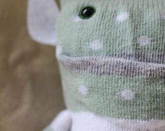 Sock Monster – Mr Mint – Pocket Size