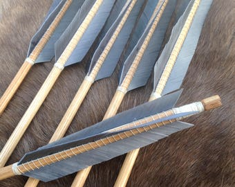 Wooden Viking Arrows,Norse, Longbow, Recurve, Archery, Reenactment