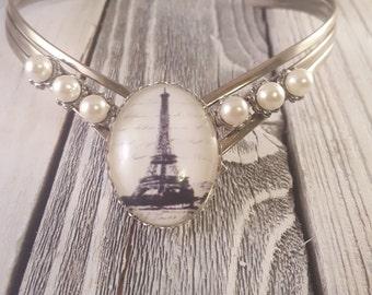 Eiffel Tower Choker Necklace