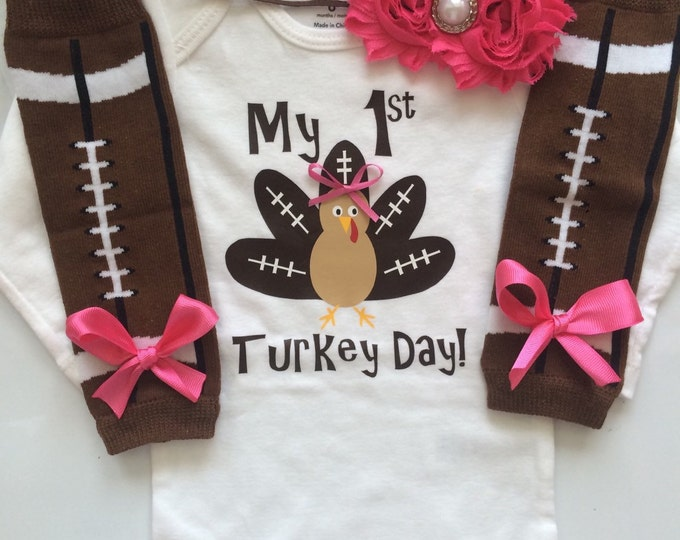Football Turkey Baby Outfit