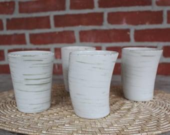 Studio Nova Samba Gray Ceramic Mugs Teacups PR703 Set of Four