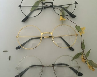 Round Frame Circle Glasses