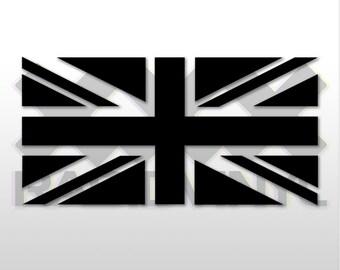 Union Jack Flag - Sticker