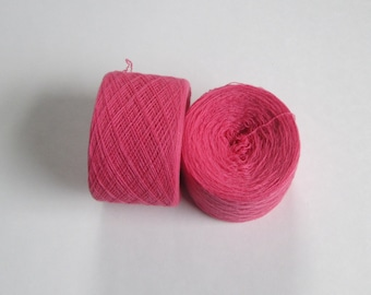 ROSE 100% Cashmere 2406 yards recycled yarn