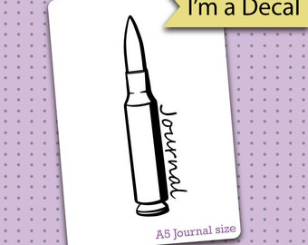 Bullet Journal Decal - Bullet Journal Decal for Bullet Journals - Bullet Journal gift