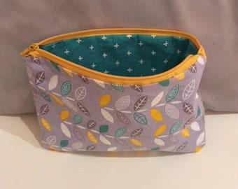 Zipper wallet, purse, make up bag, pencil case