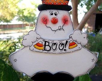 BOO Ghost Plant Stick