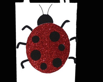 Lady Bug Gift Bag