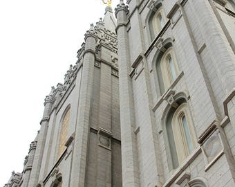 Salt Lake Temple Picture Up Close