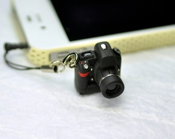 Nikon D3 DSLR Camera miniature Earphone Jack