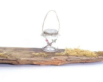 Butterflies in Jar - 1/12th dollshouse miniature