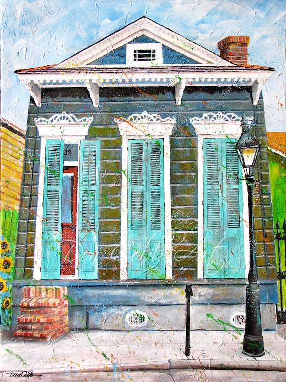 New Orleans French Quarter Art Prints Signed And Numbered