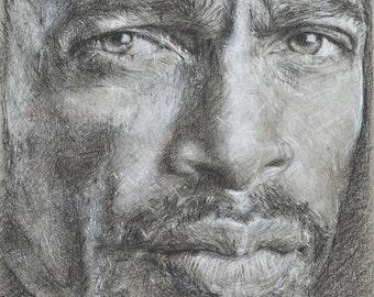 Limited Edition Print, 'Portrait #11'