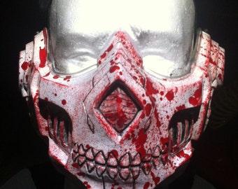 """Resin Half Mask """"Lich"""""""