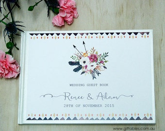Personalised Guest Book - BOHO