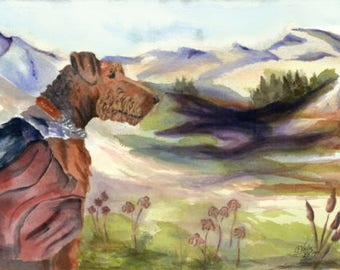 Notecards - Bailey and her mountains