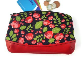 Poppy cosmetic bag