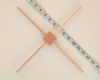 Houten frame voor mobile, baby mobiel frame, houten hanger voor baby mobile