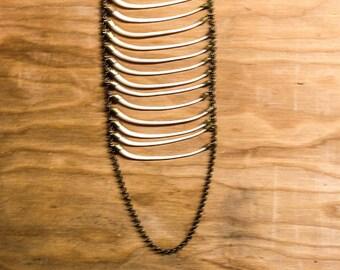 Snake Ribcage Necklace