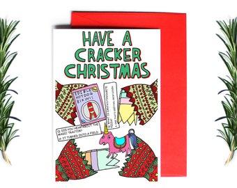Christmas Card - Cracker Christmas