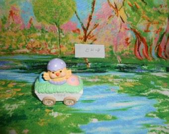 1994 Hallmark  Miniatures-Baby Chick In Easter Wagon - EH-8