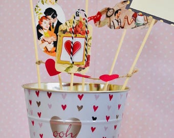 Valentine's Day gifts - A bucket full of love for him/her