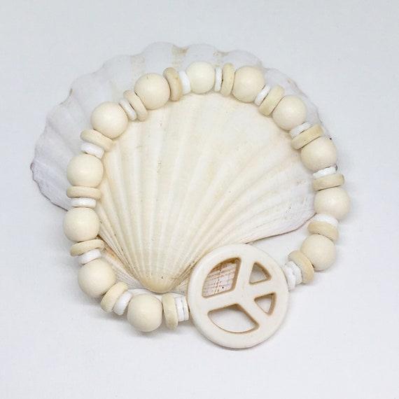 beach bracelet , beachcomber bohemian jewelry