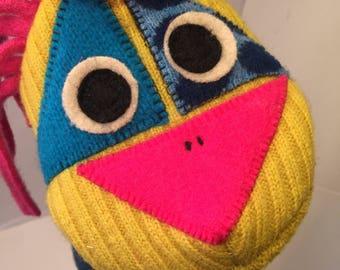 Lupine wool puppet