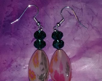 Spring color earrings style number 2