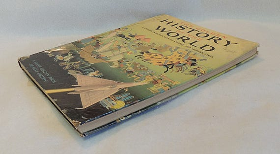 Golden History Of The World.. Giant Golden Book,, De Luxe Edition.. 1955