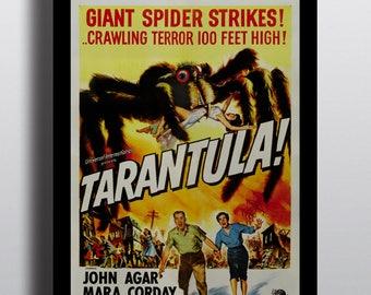 Tarantula! Giant Spider Strikes! - Vintage Horror Movie Poster Print