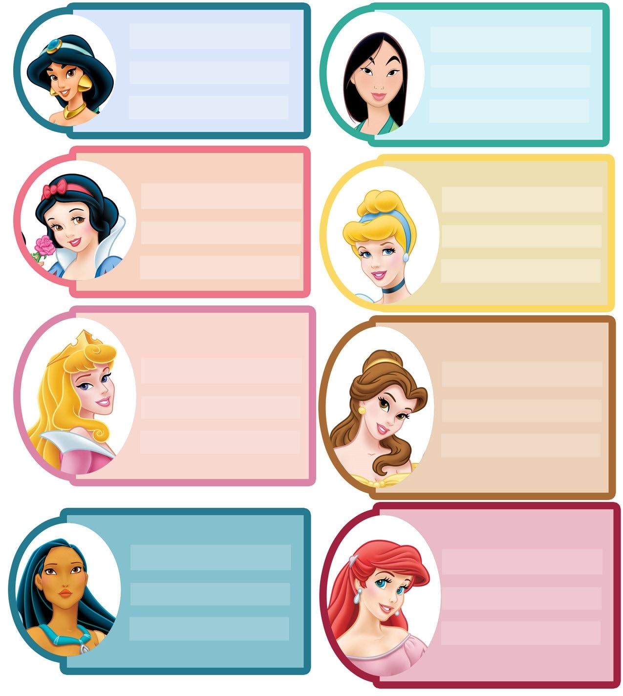 Princesses instant download address labels backpack for Drawing websites no download
