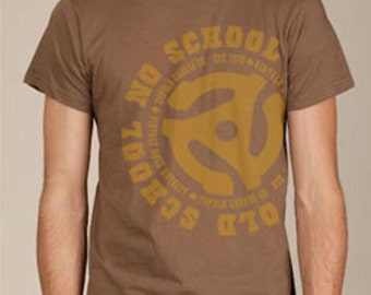 Old School - Men's Short Sleeve Crew Neck TShirt