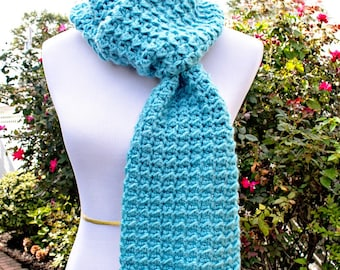 Crochet Pattern for Dreamy Scarf Wrap PDF 17-329