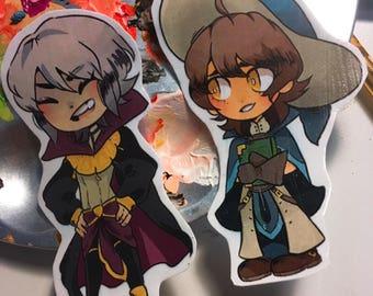 Henry and Ricken Fire Emblem Stickers