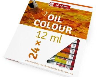 Royal Talens - Art Creation Oil Colour Paints - 24 x 12ml Tubes