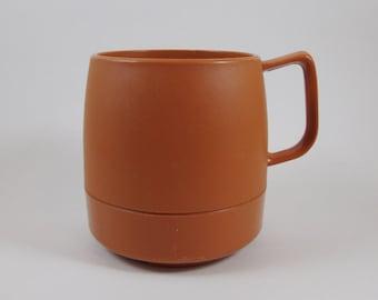 Brown Classic Dinex Coffee Mug Vintage