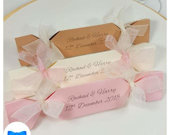 wedding favour crackers rustic wedding place setting christmas wedding crackers make and fill