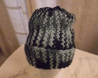 Crochet Hat in Blue