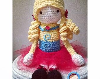 Cute crochet doll