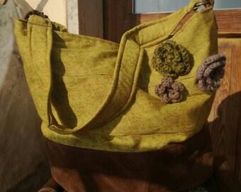 Yellow cloth bag
