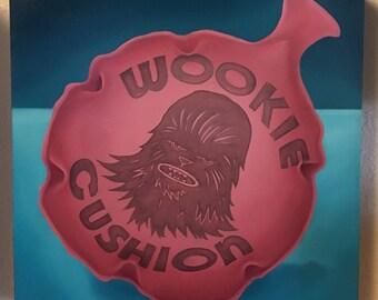 Wookie Cushion original painting
