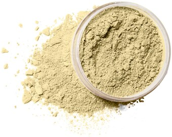 IVORY TONE Organic Mineral Foundation | Vegan Makeup Powder |  Acne Safe-Oily Skin  | Cruelty Free | 10 Gram/30 Gram Sizes