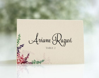 Romantic Place Card