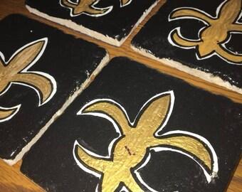 New Orleans Saints Coasters