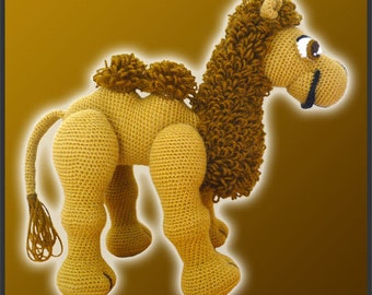 Amigurumi Pattern Crochet Joe Camel DIY Instant Digital Download PDF