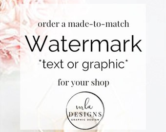 Watermark - Made to Match - Use for photos projects listings.