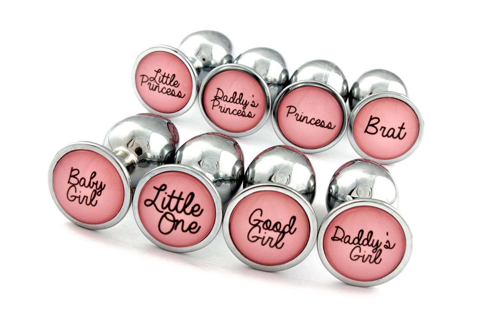 Butt Plugs For Ddlg Pretty Pink Custom Plugs With Daddys-3518