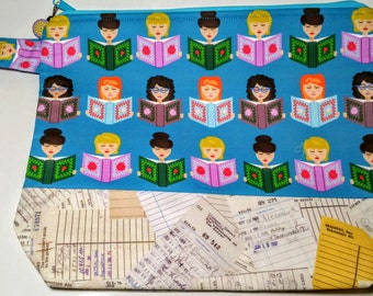 Large Project Bag Reading Library Girls